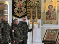 Молебен о русском воинстве (служит митрополит Даниил)